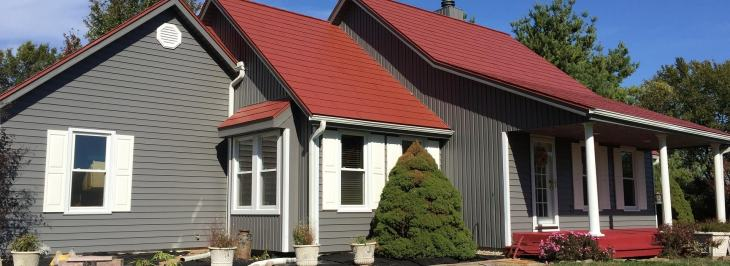 siding installation made by Renovax